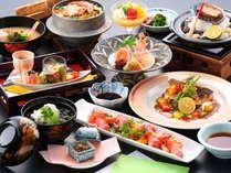 季節の和食を楽しむ~河畔のリゾートに泊まる唐津旅・夏~夕食ランクアップ【夕朝食付】