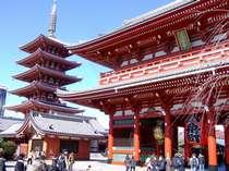 【五重塔&宝蔵門】浅草寺の五重の塔も見事です!