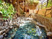 野趣溢れる貸切露天風呂「南国野天風呂」