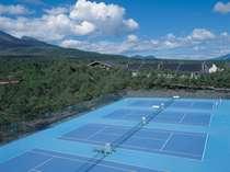 【高原で爽やかにテニス】 国立公園内コートでアクティブにリゾートを満喫【プライベートコテージ】朝食付