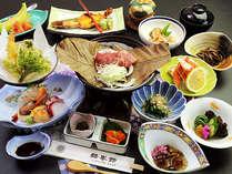 【スタンダード】とろける美味しさ♪皆瀬牛陶板焼きと季節の食材を味わう