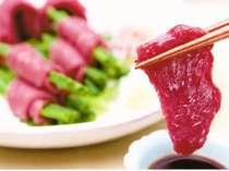 *【NEW】厚切りの馬刺し!梅月で食べたら他では食べられない旨さです。