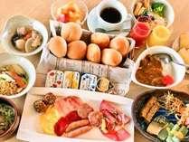 佐世保名物蜂の家カレーも登場する絶品朝食の一例
