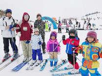 びわ湖が一望できる箱館山スキー場