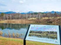 *【周辺】まるやち湖と八ヶ岳