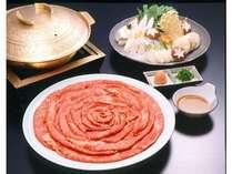 神戸ビーフのシャブシャブ鍋《例》