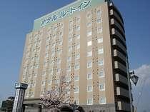 ホテルルートイン水海道駅前外観