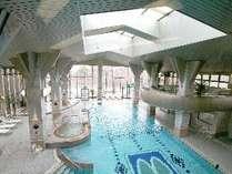 <オプション>全天候型!ブランヴェール那須クアハウス(プール、大浴場、露天風呂)