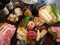 三元豚&豪産牛を食べ放題で食べ比べ!高原野菜も新鮮です!!