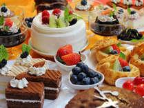 デザート盛り付け一例食べ放題はオプション半額!
