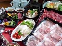 食べ放題プラン~国産豚しゃぶ&豪産牛しゃぶ&お野菜も