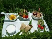 高原の恵み朝食