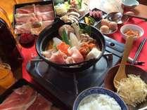 〆はチーズリゾットのキムチ鍋☆