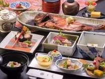 金目鯛姿煮付きプランのお料理イメージ