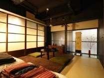 個室 (2名定員・和室) Private Twin Tatami Room