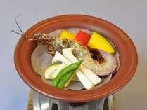 【ご当地の味】海香る伊勢海老(半身)陶板焼き1泊2食プラン
