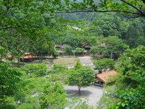 島根県の西部、益田市美都町の山間にあるキャンプ場です
