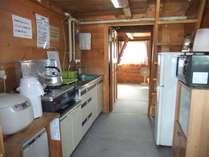 冷蔵庫、炊飯機、トースター、レンジ等があります