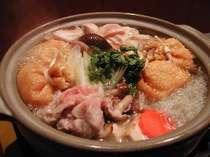 【平日限定】 さむ~い冬には…素材の旨み引出す究極のだし汁◆旨塩味◆鍋で♪あったかしあわせプラン♪