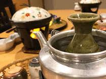 【心も体もぽっかぽか♪】土鍋のあつあつ炊き込み御飯&お好みの温度でたのしむ地酒つきプラン~平日限定~