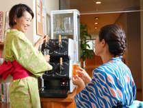 【フリードリンク】4種類の日替わりクラフトビールをお楽しみください(^^)