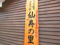 仙寿の里 ラムネ温泉