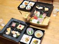 和洋懐石膳と伊勢海老・地魚のお造り♪(選択お料理・御食事・デザートが付きます)