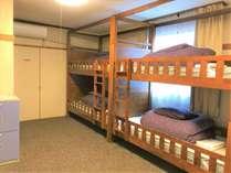 ドミトリー【2段ベッド】男女相部屋6 ppl mix dormitory (bunk bed)