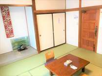 和室8畳【個室】定員4名Budget Japanese style private room (Max 4 ppl)