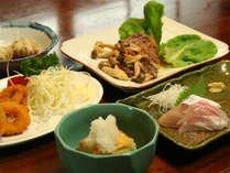 ◆ご夕食例◆大分の新鮮な山海の幸を盛り込んだボリューム◎の家庭料理をご用意致します。