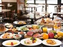 ル・カフェの朝食は全70種類以上の和洋ブッフェ♪