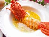 【魚料理】伊勢海老のブイヤベース