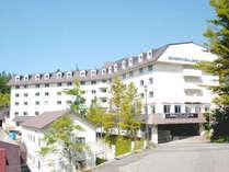 *爽やかな風が流れる高原リゾートホテルです。