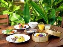 沖縄食材で朝からたっぷりビタミン補給