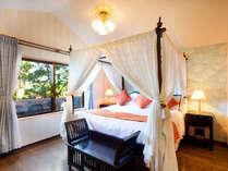●ガーデンコテージダブル オリエンタルリゾートをプリンセス気分でお楽しみください。