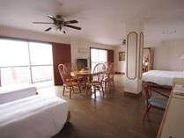 ●オリエンタルルーム 広い広いお部屋、バスルームも二つあります♪