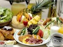 当館自慢のビュッフェスタイル朝食
