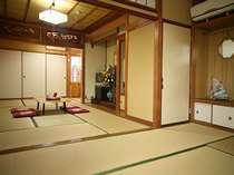 和室6+10畳グループ&ご家族に最適。