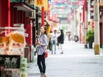 日本三大中華街『長崎新地中華街』は当館から徒歩1分