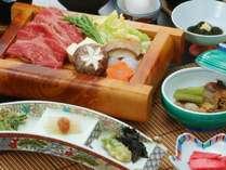 【夕食】すき焼き和食膳(イメージ)