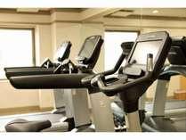 2階に設置のフィットネスルームは、6時~22時までご宿泊者はご利用無料。