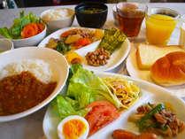 【朝食・和洋食一例】お好きなものをお腹いっぱいどうぞ♪
