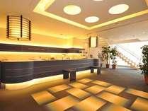 ◆モダンで広々と開放的なフロント・ロビー