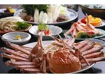 お鍋中心の「かにすきコース」最後の雑炊は美味!