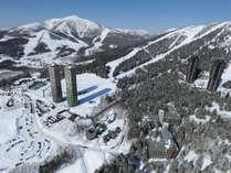 【リゾート全景】冬イメージ