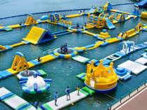 水の王国 海上ウォーターパーク 海キング