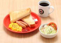 モリバコーヒー朝食案内 Aセット
