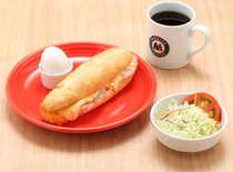 モリバコーヒー朝食案内 Bセット