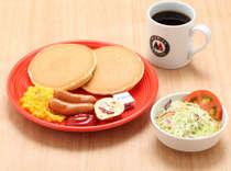 モリバコーヒー朝食案内 Cセット