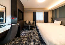 エグゼクティブツインルーム(10階以上、全室禁煙)は、ハリウッドタイプ!!添寝も可能です!!